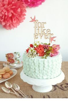 For Like Ever Wedding Cake