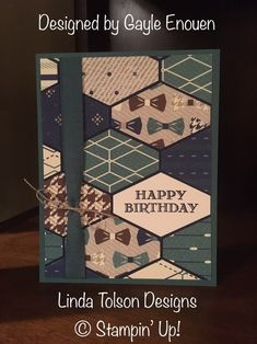 39 Ideas Cake Birthday Men Guys Stampin Up Birthday Card Sayings, Masculine Birthday Cards, Birthday Cards For Men, Man Birthday, Masculine Cards, Birthday Cake, Happy Birthday, Birthday Nails, Birthday Parties