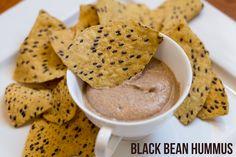 Easy Black Bean Hummus
