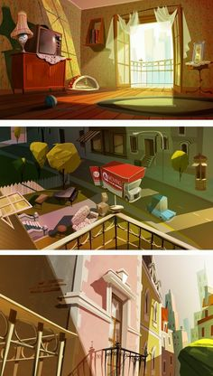 Mittens Game by Juan Francisco Cancelleri, via Behance.Fairy tale