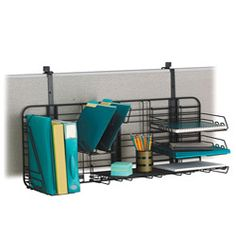 @Overstock - Make your cubicle walls work for you with the files-in-their-place, lots of space Grid Works desk organizer. Featuring strong welded steel construction in a continuous-loop design with hardened epoxy finish that stands up to the durability challenge.http://www.overstock.com/Office-Supplies/Safco-Compact-Grid-Works-Desk-Organizer/4657105/product.html?CID=214117 $135.99