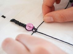 SHAMBALLA BRACELET: Step by step instructions.
