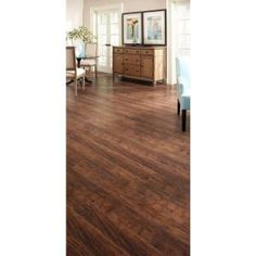 Trafficmaster Embossed Alameda Hickory 7 Mm Thick X 7 3 4