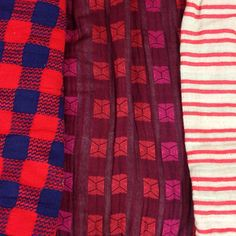 houndstooth, oxblood, peppermint ace & jig fall 2013 textiles