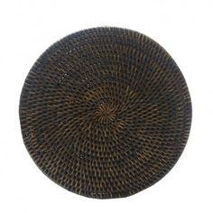 Descanso de travessa redondo rattan natural 23 cm - Mesa - Produtos