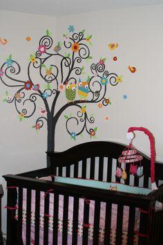 #owl baby room