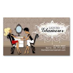 nail salon business card - Nail Tech Business Cards
