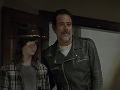 Jeffrey Dean Morgan and Chandler Riggs in The Walking Dead Walking Dead Tv Series, The Walking Dead Tv, Amazon Video, Chandler Riggs, Jeffrey Dean Morgan, Andrew Lincoln, Singing, Celebs, Songs