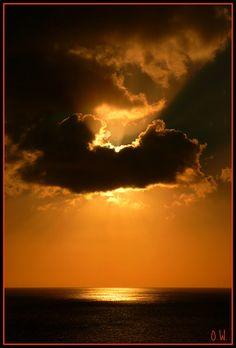 Caribbean nightfall.   Flickr - Photo Sharing!