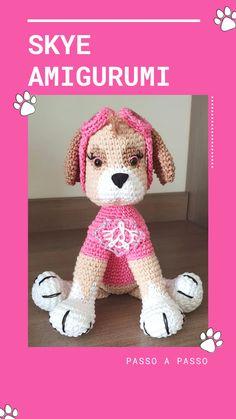 Paw Patrol, Free Crochet, Crochet Hats, Cartoon Characters, Free Pattern, Have Fun, Crochet Patterns, Presents, Teddy Bear
