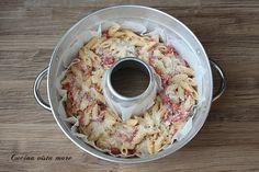 Pasticcio di pasta nel fornetto Versilia Cucina vista mare Quiche, Oatmeal, Breakfast, Recipes, Food, Muffin, Cupcakes, Drinks, Winter Time