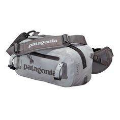 The Patagonia Stormfront® Hip Pack is a fully welded, 100% waterproof fly fishing waist pack for foul weather protection in the nastiest conditions.