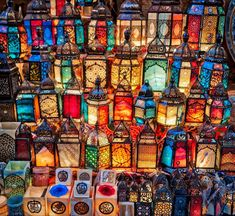 Beautiful Egyptian lamps in the bazaar today. My two girls each bought one to bring home to New Zealand. Can you guess which ones?  #Egypt #Cairo #rcmemories #lamps #egyptian #light #colour