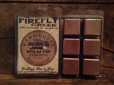 6oz. Large Aroma Bar- Melting Wax scented in Farmhouse Maple on Etsy, $5.00