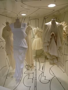 monotonyofdomesticity: Comme des Garcons SS2004 (or 2004?) Dover Street Market window.
