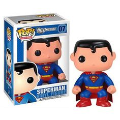 Superman New 52 Pop! This model has Superman camouflaging his underwear, using a red belt to hold them up. Heroes get a make-over to match the New 52 reboot from DC. Superman New 52, Superman Dc Comics, Superman Hero, Superman Action Figure, Action Figures, Superman Cosplay, Superman Party, Superman Stuff, Action Toys