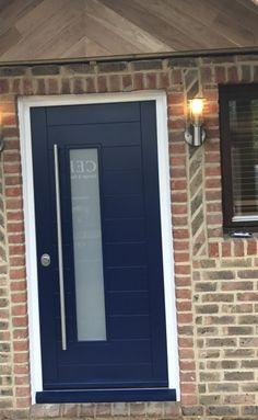 Home Security Doors London, Premium Secure Entrance Door- Cerberus Doors House, Door Sets, Security Door, House Front, Single Doors, Entrance Doors, Custom Door, Painted Paneling, Doors
