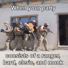 When you start to see classes IRL: | 18 Photos That Will Make Any D&D Player Laugh