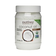 Get Your FREE full-sized jar of Nutiva Organic Virgin Coconut Oil. While supplies last.