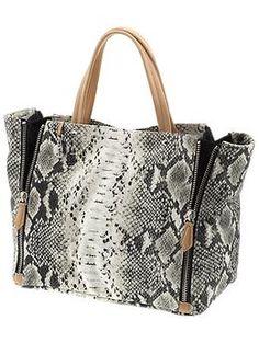 Genevieve Zippered E/W Tote  by Sam Edelman Handbags