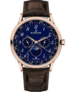 Ceas Edox Les Vauberts Annual Calendar 40101 37RC BUBR1 Bb Shop, Calendar, Quartz, Accessories, Life Planner, Jewelry Accessories