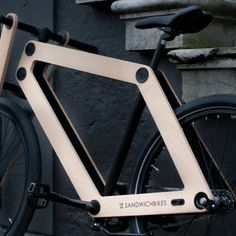 Sandwichbike by Basten Leijh Tricycle, Velo Beach Cruiser, Wooden Bicycle, Bike Design, Sustainable Design, Product Design, Journal, Oui, Welding Projects