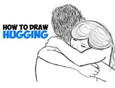 There aren't very many tutorials out there for drawings hugs, which is surprising because they are hard to draw...in my opinion. So I put together a very quick tutorial on drawing passionate hugs.