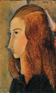 Portrait of Jeanne Hebuterne - Amedeo Modigliani