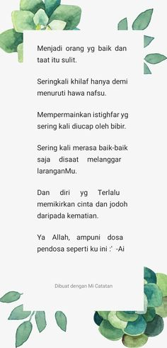 Pendoza yang merenung Religion Quotes, Best Love Quotes, Unconditional Love, Mendoza, Love Is All, Herbs, Notes, Motivation, Living Alone