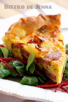 Rustic Quiche – Country Quiche: The Easy Recipe - Recipes Easy & Healthy Quiches, Omelettes, No Salt Recipes, Veggie Recipes, Chefs, Brunch, Quiche Lorraine, Eat Lunch, My Best Recipe