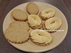 Veľmi krehučké a jemné orechové koláčiky, ktoré sa rozplývajú na jazyku. Tento recept som si upravila z jedného starodávneho... Biscuits, Sweet Tooth, Muffin, Pie, Cookies, Breakfast, Food, Torte, Morning Coffee