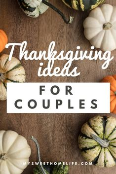 Thanksgiving traditions for couples