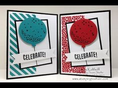 Celebrate Today Bundle - Clean and Simple Card with How To Video, Kay Kalthoff, Stampin' Up! #stampingtoshare