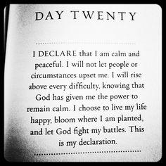 I Declare by Joel Osteen <3