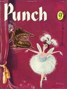 Cartoons Magazine, Punch Magazine, Magazine Front Cover, Ronald Searle, Cover Art, Princess Zelda, Culture, Anime, Illustration