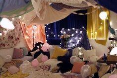 Slumber Party Blanket Fort