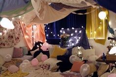 Slumber Party Blanket Fort