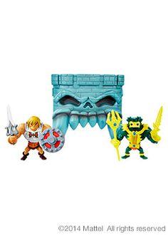 Mini He-Man® and Mer-Man® Figures