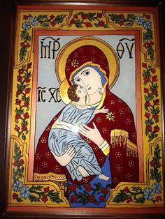 Roman Church, Orthodox Christianity, My Glass, Madonna, Catholic, Folk, Symbols, Anime, Painting