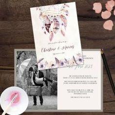Traumfänger | Einladung Zur Hochzeit. Perfekt Für Jede Boho Hochzeit Oder  Individualisten #hochzeit #