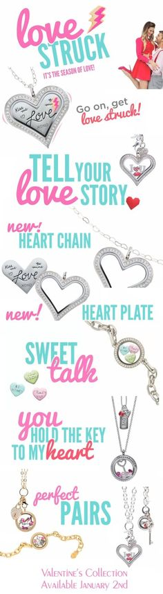 New Origami Owl Valentine's Day Collection 2014 available NOW!!  Ask me how you can earn them for FREE:)