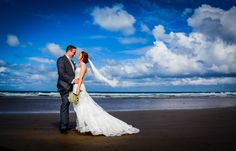 Wedding photograph I took at Newton Hall in Northumberland. I love the dramatic skies in this shot