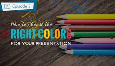 In this video about how to make a presentation, we will talk about how to choose the best colors for your slides. Starting with a brief introduction of color Make A Presentation, Digital Literacy, Graphic Design Tips, Career Advice, Color Theory, How To Know, Social Media, Good Things, Messages