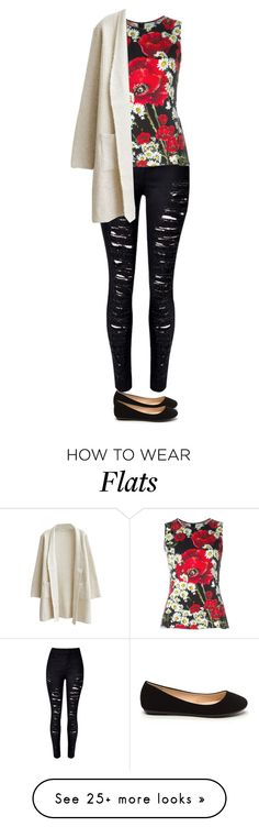 """""""Sin título #3620"""" by xoxominyeol on Polyvore featuring WithChic and Dolce&Gabbana"""