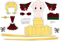 Rozen Maiden Shinku Papercraft