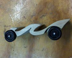 wave pinewood derby car
