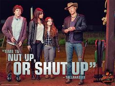 Zombieland quote Nut up or shut up I Zombie, Zombie Apocalypse, Apocalypse Survival, Zombie Gifts, Zombie Movies, Horror Movies, Creepy Movies, Tallahassee Zombieland, Movies Showing