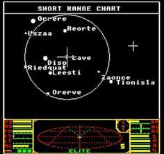 Elite, Commodore C64 15 Minuten Ladezeit auf datasette Retro Video Games, Retro Games, Retro Typewriter, Geek Games, Old Computers, Old Games, Getting Old, Pixel Art, Childhood Memories
