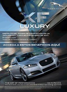 #NOVOCLICK esta con #Jaguar XF Luxury tarifa premium #GrupoPremier