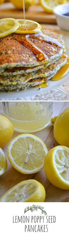 A burst of lemon and crunchy poppy seeds